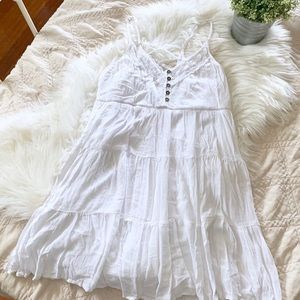 Francesca's Collections White Sundress   Large